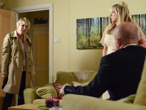 Shirley, Sharon and Phil come face to face