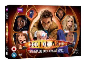 Doctor Who: The Complete David Tennant Years DVD set