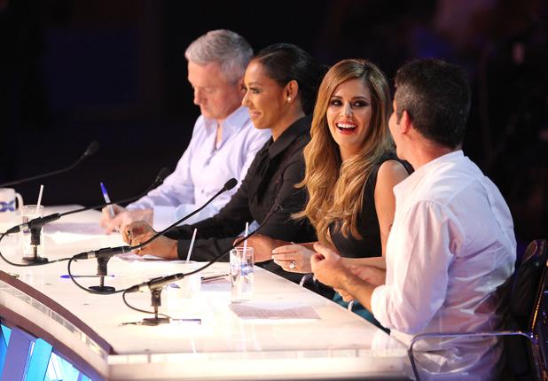 The X Factor judges, Episode 7