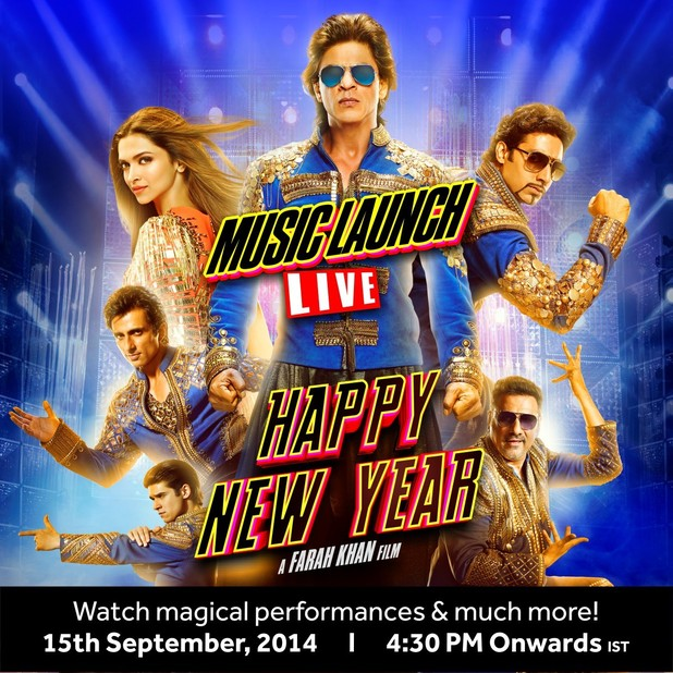 Story of Happy New Year Srk Happy New Year Live Music
