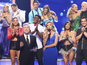 Who was knocked out of DWTS in week 2?