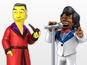 Simpsons reveals guest star figurines