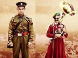 Aamir Khan and Sanjay Dutt in PK poster