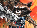 Two Guardians of the Galaxy characters feature on the November variant covers.