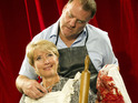 Bryn Terfel and Emma Thompson in Sweeney Todd: The Demon Barber of Fleet Street, A Musical Thriller