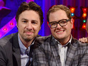 The actor speaks about the rumor on Alan Carr: Chatty Man.