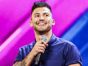 Jake Quickenden perform on The X Factor