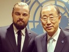 Leonardo DiCaprio joins Instagram, posts live from UN Climate Summit