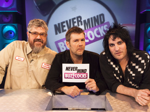 Phill Jupitus, Rhod Gilbert, Noel Fielding, Never Mind the Buzzcocks