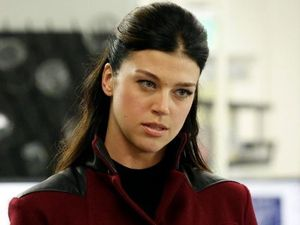 Adrianne Palicki as Bobbi Morse, a.k.a. Mockingbird, in Marvel's Agents of S.H.I.E.L.D.