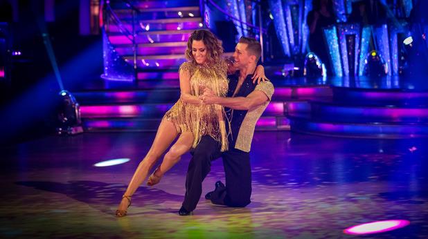 Caroline Flack & Pasha Kovalev on Strictly Come Dancing 2014: Week One, Show One