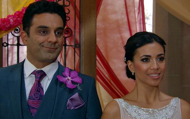 Priya and Rakesh prepare to marry