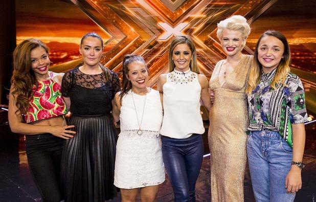 X Factor on Saturday 27th  X Factor Judges 2014