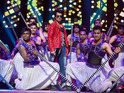 Abhishek Bachchan was the stand-out performer in the live spectacular.