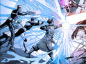 The artist previews pages from the long-delayed Jonathan Hickman-written comic.