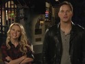 Chris Pratt fights off the sexual advances of Kate McKinnon in SNL promo.