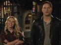 Chris Pratt fights off the sexual advances of Kate McKinnon in SNL promo.