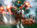 The DLC pack allows players to ride Epona into battle when they play as Link.