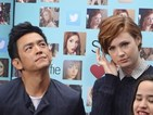 Karen Gillan and John Cho look awkward promoting Selfie