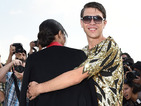 Ciara hugged by thong-wearing celeb prankster Vitalii Sediuk in Paris