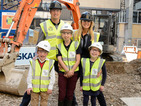 Tess Daly and Vernon Kay launch work on new GOSH building