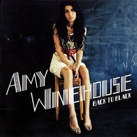 Amy Winehouse Back To Black album artwork.