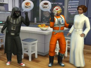 The Sims 4 adds Star Wars-themed outfits