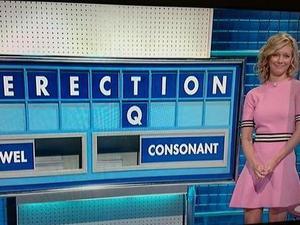 Rachel Riley amused by naughty Countdown