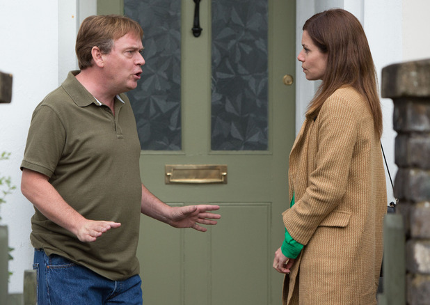 Ian tells a horrified DC Summerhayes that he knows about her and Max