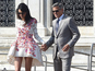 George Clooney steps out after wedding