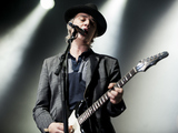 Pete Doherty performs at Alexandra Palace