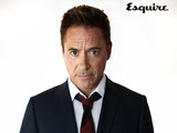 Robert Downey Jr in the November issue of Esquire magazone