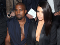 PARIS, FRANCE - SEPTEMBER 25: Kanye West and Kim Kardashian attend the Lanvin show as part of the Paris Fashion Week Womenswear Spring/Summer 2015 on September 25, 2014 in Paris, France. (Photo by Rindoff/Dufour/Getty Images)