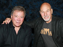 William Shatner and Patrick Stewart will both appear.