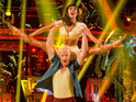 Jake Wood denies previous dance lessons after taking the show's lead.