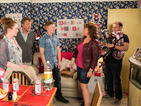 Corrie topped the midweek soap ratings with Cilla's surprise arrival.