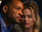 Will Smith and Margot Robbie get lost in the blur of this overblown con caper.