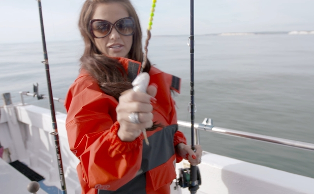 See katie price go fishing for stars at your service tv for How to not get seasick on a fishing boat