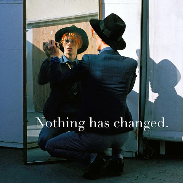David Bowie reveals new album sleeves for Nothing Has ...