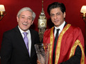 The actor was honoured at the House of Commons for his work in cinema.