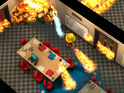 Out today, the Spelunky-like firefighting game is a few embers short of a fire.