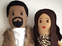 See Kim and Kanye as dolls, and more celebrities immortalised in felt and plastic.