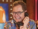 Alan Carr takes part in the TV special to raise money for Cancer Research UK.