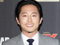 "Steven Yeun says the female characters on the series ""can protect themselves""."