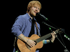 "Ed Sheeran texts X Factor's Simon Cowell over ""fantastic"" Andrea Faustini"