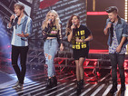 We bring you all the best pictures from The X Factor's ode to the '80s.