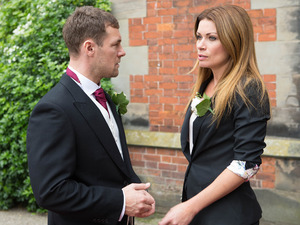 Carla has a massive decision to make at the wedding