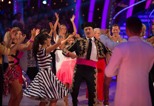 Strictly Come dancing results show, Tim Wonnacott