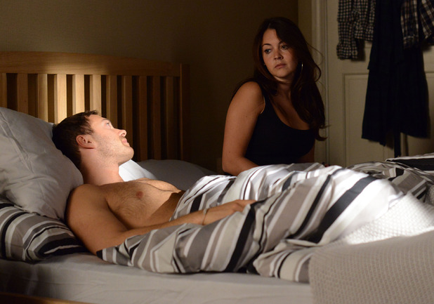 Stacey tells Dean their night together was a mistake.