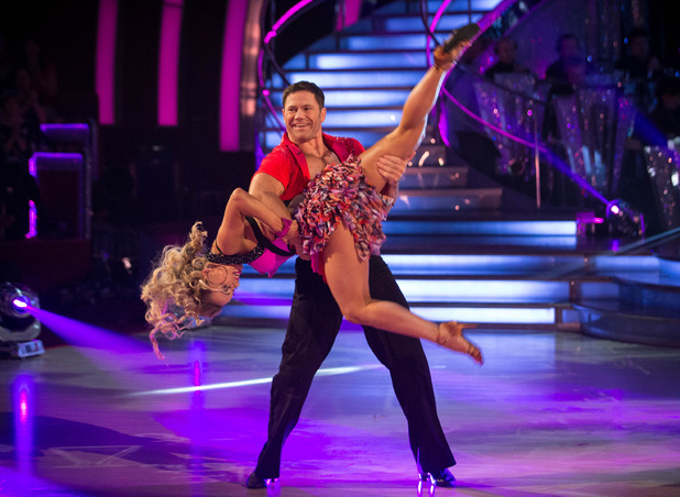 Steve Backshall and Ola Jordan